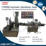 Etichettatrice di coperchiamento di riempimento Ytsp500 per l'essenza della pulitrice