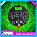 Personalizar el teclado de caucho de silicona conductora de interruptor de membrana teclados