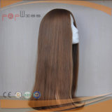ベストセラーのブラウンの人間の毛髪の女性のかつら(PPG-l-0509)