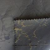 Hwpdc828 100% polyester Dobby tissu de la mémoire