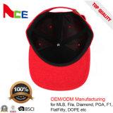 100%年の綿の煉瓦赤いカスタム卸し売りブランクカスタムお父さんの帽子