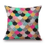 18 Polegadas Geomestry criativo coloridos impressos digitais travesseiro case (35C0261)