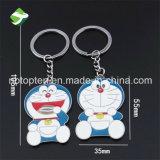 De in het groot Nieuwe Ring van de Ketting van de Sleutelring van Doraemon Keychain van het Metaal van het Ontwerp Zeer belangrijke