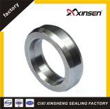 Junta oval de la junta del anillo en el hierro suave material del metal, SS304, SS316, SS316L