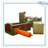 Machine de presse de bidon en aluminium de rebut d'emballage de fer