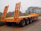 중국 공장 판매 트레일러 60 톤 반 세 배 차축 평상형 트레일러