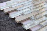 Домашняя оформление газа смесь стекло естественный Белый Оникс мраморной мозаикой