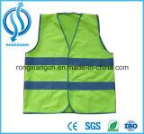 Leuchtstoff Grün-hallo Kraft-reflektierende Sicherheits-Kind-Weste