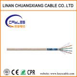 FTP Cat5e 4 pares de cable LAN Cable de red de 24 AWG para interiores