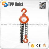 Élévateur à chaînes actionné manuel de bloc à chaînes de grue de Hsz