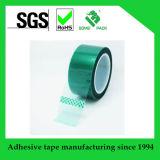 Nastro resistente di Temperatur dell'animale domestico verde adesivo del silicone alto per il mascheramento della vernice di spruzzo della polvere