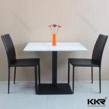 レストランの家具の新しいデザイン固体表面のダイニングテーブル(171113)
