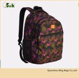 Trouxa de viagem do estudante do poliéster à moda bonito dos sacos de escola para mulheres