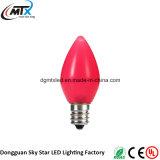 백색 자주색 노란 분홍색 청록색 빨간 LED 크리스마스 불빛