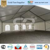 Tenda militare della pioggia della prova del PVC dell'esercito su ordinazione bianco della stampa con i muri laterali