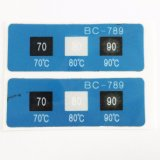 열이 Multiwindow 서류상 온도에 의하여 과민한 변경 색깔 표시기이라고 레테르를 붙인다