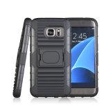 La caisse d'étui de Kickstand de boucle de support de téléphone du véhicule 2017 la plus neuve pour Samsung S7