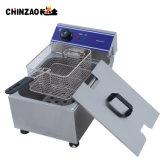 Approbation CE friteuse électrique en acier inoxydable