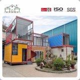 輸送箱のホテルまたは浜のための贅沢なプレハブモジュラー移動式建物の家を修正しなさい