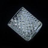 Kristallglas-Kerze-Halter mit Dimon Entwurf