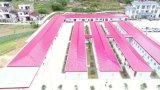 가벼운 강철 구조물 Prefabricated 사무실 건물 중국제