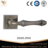 Ручка рукоятки двери сплава цинка AC на квадратной розетке (Z6084-ZR09)