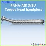 Testa ad alta velocità chirurgica dentale di standard del pulsante di Handpiece dell'aria di Pana