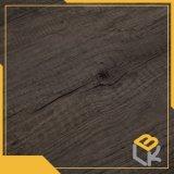 Papel impregnado melamina decorativa gris 70g 80g del diseño del grano de madera de roble usado para los muebles, suelo, superficie de la cocina de Manufactrure chino