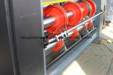 De halfautomatische het Voeden van de Ketting Printer Slotter van Flexo van de Inkt van /Water van de machine van de Druk en de Machine van de Snijder van de Matrijs