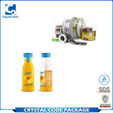 Vaso de zumo de Popular reciclables pegatinas etiquetas