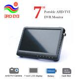 3. Auge 7 Monitor CCTV-Kamera-Prüfvorrichtung Zoll LCD-bewegliche Ahd/Tvi/Cvi/CVBS industrielle DVR