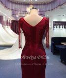 Aoliweiya Nixe-rotes kurzes Serien-Abend-Partei-Kleid