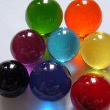 Dsjuggling acrílico rojo de 80mm bolas de malabares Contacto Magic Ball