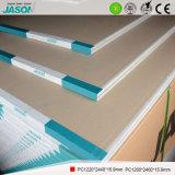 Cartón yeso estándar de Jason para el edificio Material-15.9mm