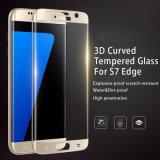 per protezione Tempered della pellicola di vetro di copertura totale 9h del bordo della galassia S6 di Samsung la mini duro