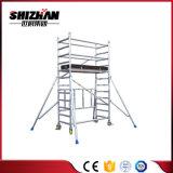 Venta caliente útil Escaleras de aluminio y acero andamios para la venta