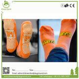 Parque trampolín calcetines personalizados y agarre la fabricación de calcetines Unisex