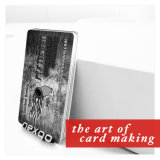 MIFARE Classic 1K chip RFID de plástico de PVC Hotel Key Card