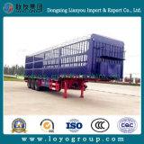 Venda a quente 3 eixo de transporte de carga da Barragem Jogo semi reboque com boa qualidade