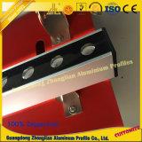 Perfil de aluminio para la lámpara pendiente del LED con el CNC