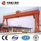 FEM Haz Doble Clase de 4m/grúa pórtico de la puerta de acero de material, la manipulación de materiales de construcción