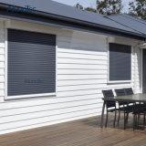 알루미늄 Sunshading 회전 셔터 Windows