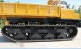 Al Vrachtwagen van de Kipwagen van het Kruippakje van het Spoor van de Grootte Rubber met de Motor van Cummins