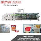 Empaquetadoras de la salsa del polvo y empaquetadora de pesaje verticales automáticas