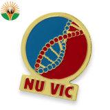 Badges en métal avec logo personnalisé pour les ventes