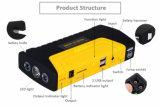 Mulit-Function bom carro de bateria portátil de emergência de Arranque com Cabos Auxiliares