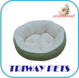 Base rotonda del cane della flanella (WY161033)