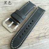 Espessura 22 24 26mm cinta de vigilância em pele genuína