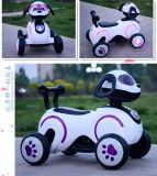 再充電可能な、LEDライト、4つの車輪、男の子および女の子は電気犬のおもちゃ車の工場直売を運転できる
