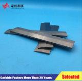 Inserções do carboneto de tungstênio para facas de trabalho da madeira
